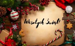 Zdrowych, spokojnych Świąt!