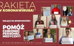 Rakietą w koronawirusa! Polscy tenisiści pomagają w walce z epidemią!