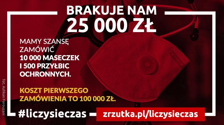 UPDATE: brakuje niecałe 25 000 zł do pierwszego zamówienia