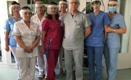Pierwsze przyłbice dotarły już do szpitali