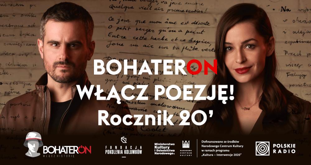 BohaterON – włącz poezję! Rocznik 20.