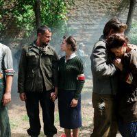 Aktorzy podczas kręcenia spotu kampanii BohaterON