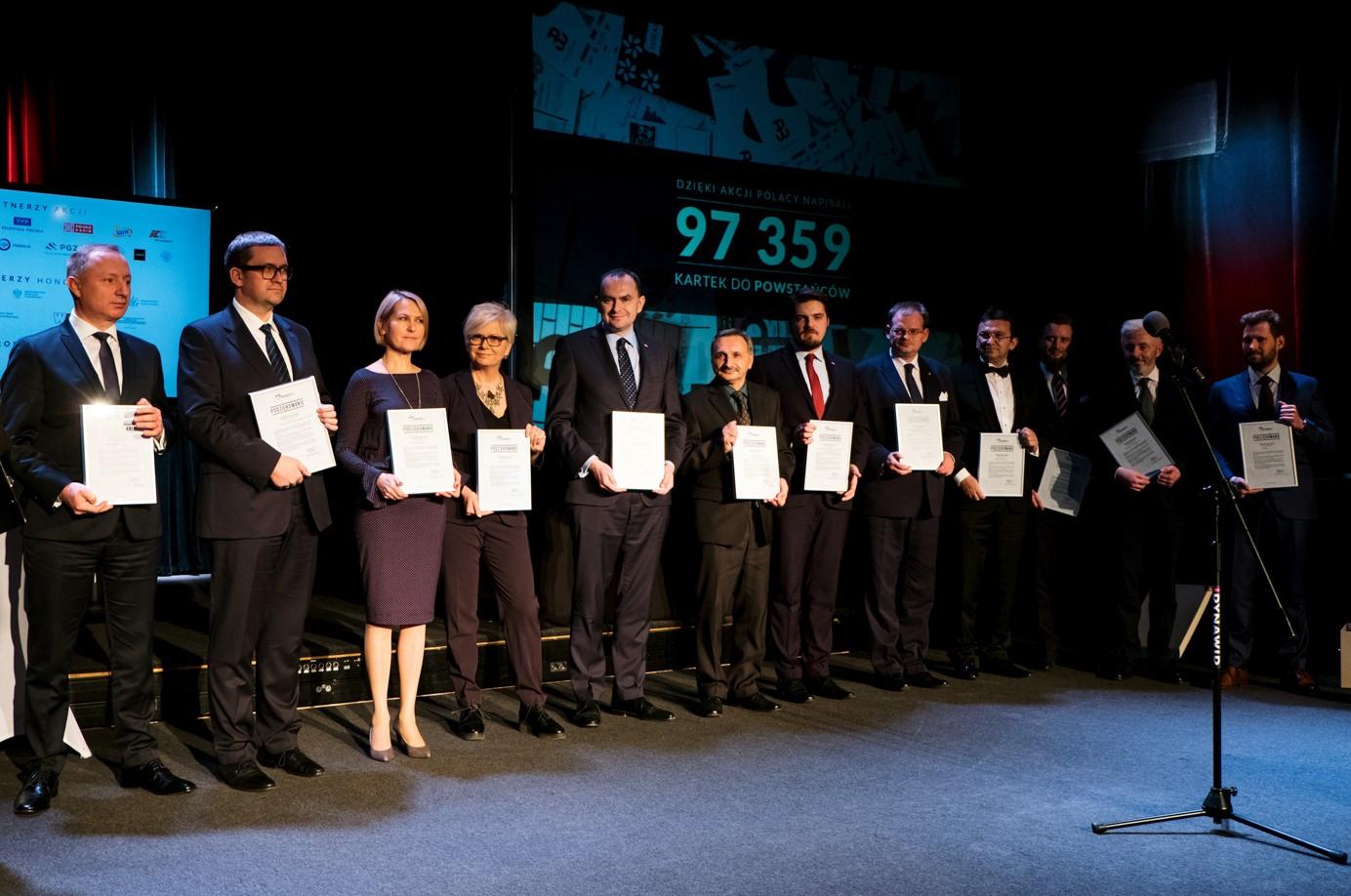 Gala I edycji projektu BohaterON