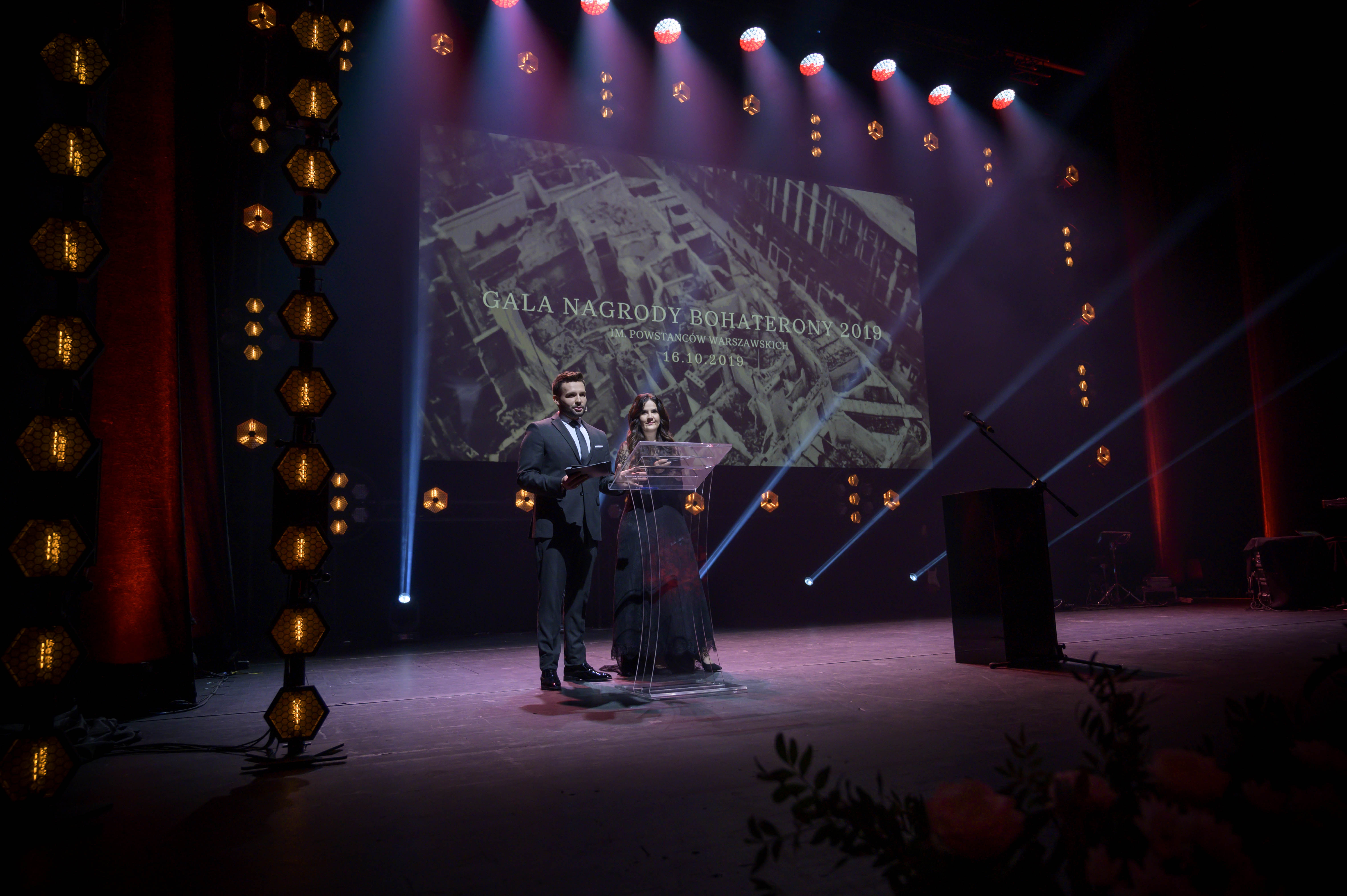 Gala BohaterONy 2019 - 16.10 - Karol Gnat i Agnieszka Łesiuk-Krajewska