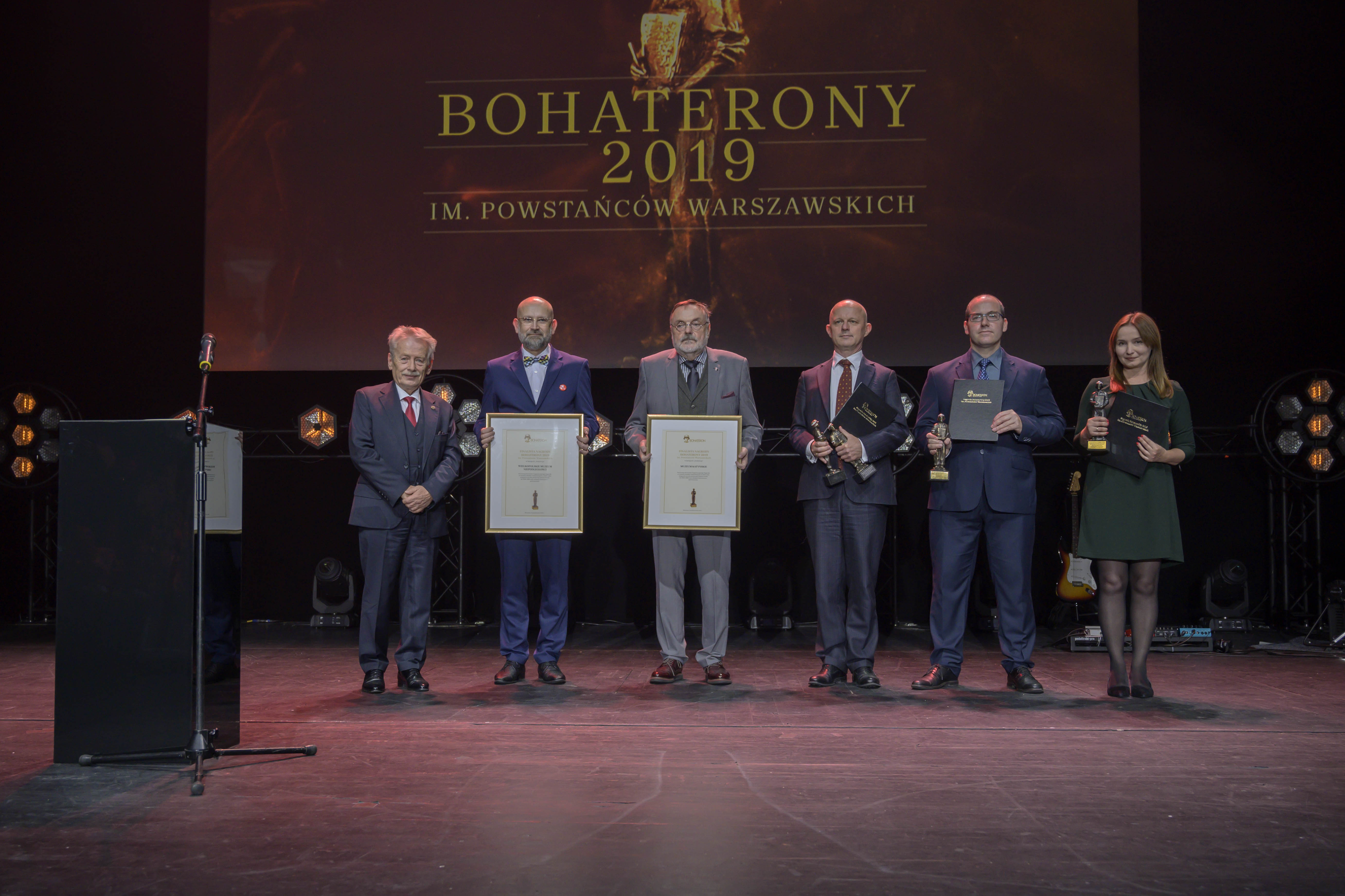Gala BohaterONy 2019 - 16.10 - kategoria INSTYTUCJA