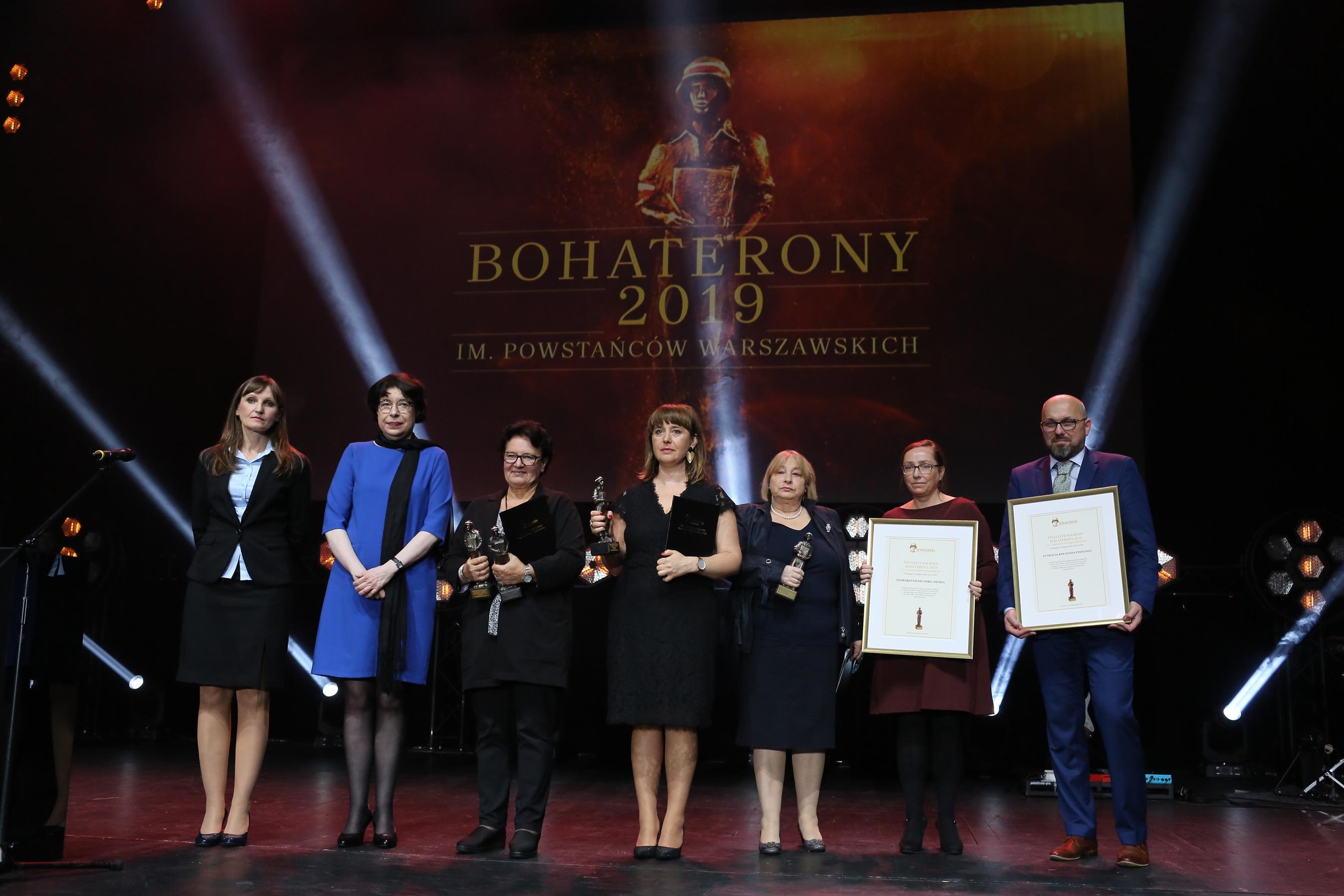 Gala BohaterONy 2019 - 16.10 - kategoria ORGANIZACJA NON-PROFIT