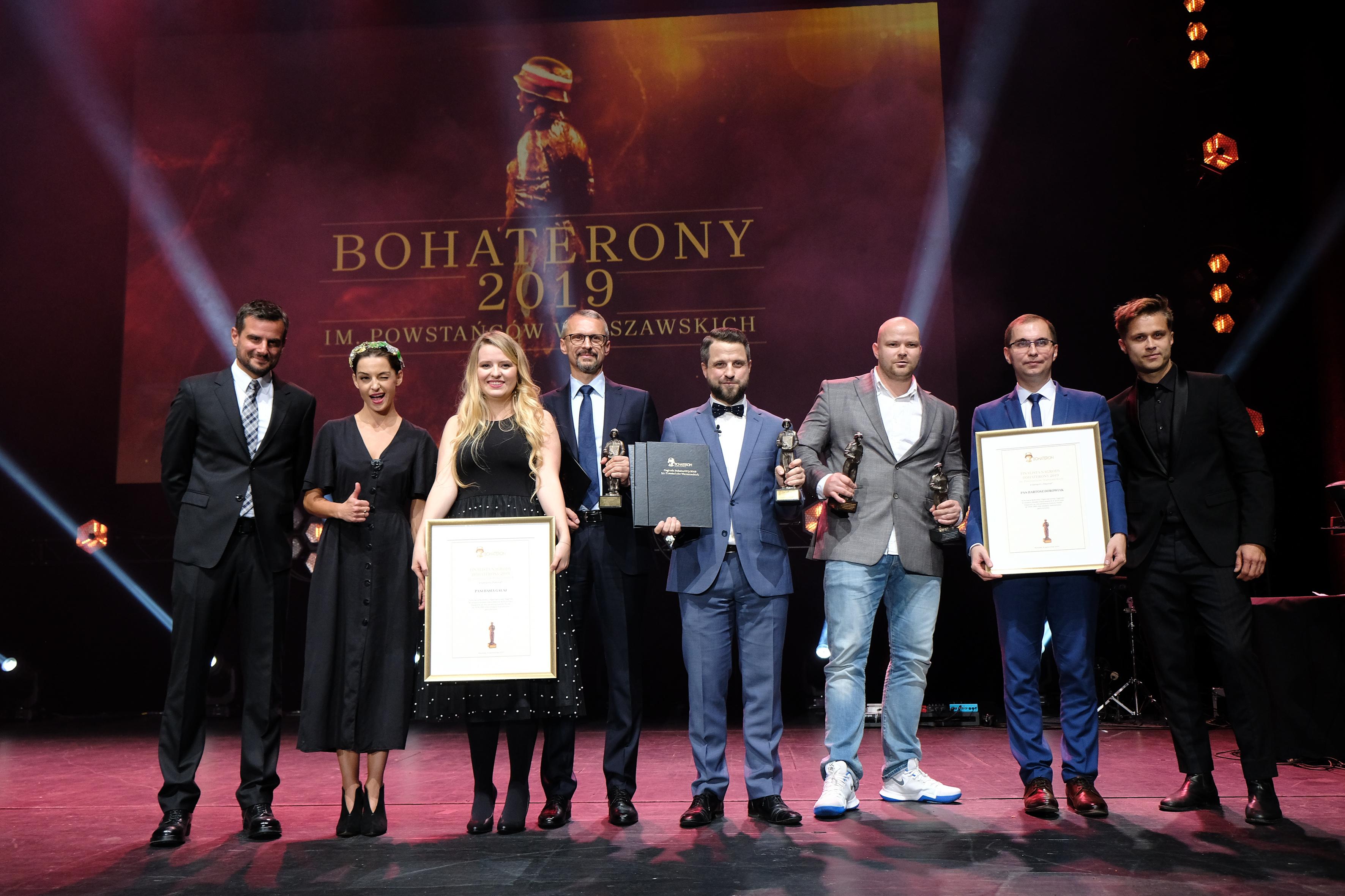 Gala BohaterONy 2019 - 16.10 - kategoria PASJONAT